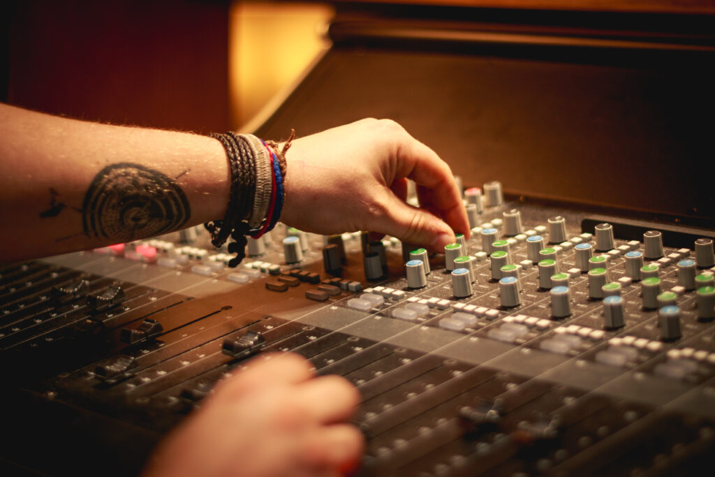 A photo of a lovely mixing desk